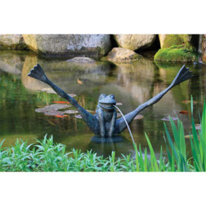 Aquascape Crazy Legs Frog Fountain with Pump