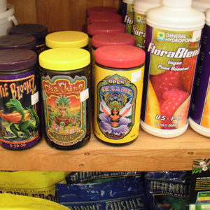 Hydroponic Nutrients Products Store