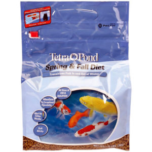 Tetra Spring _ Fall Diet Wheat Germ Fish Food - Floating